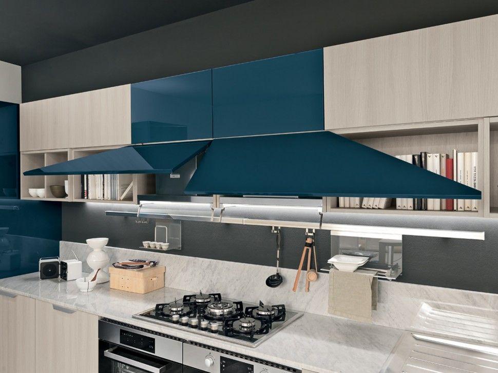Elegant Colombini Lungomare Konyhabútor Modern Kitchen Furniture Nature And Blue    Konyhabútor   Kitchen Furniture   Pinterest   Modern Kitchen Furniture, ...