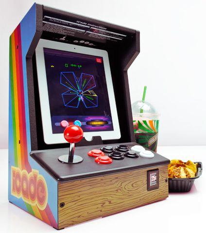 iCade - Arcade Cabinet for iPads | Oficina