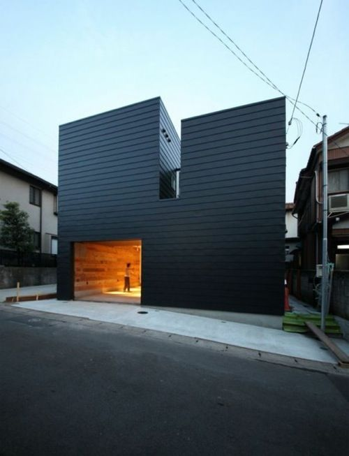 Architectural Inspiration 12 Modern Houses With Black Exteriors