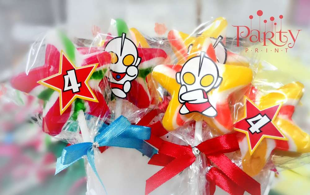 Ultraman Birthday Party Ideas Birthday party ideas and Birthdays