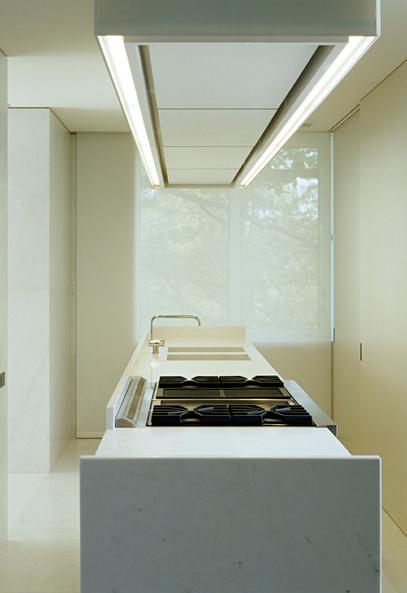 Minimal kitchen space by Vincent van Duysen _