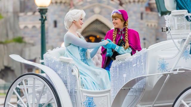 Frozen Summer Fun Anna and Elsa at Disneyland Paris