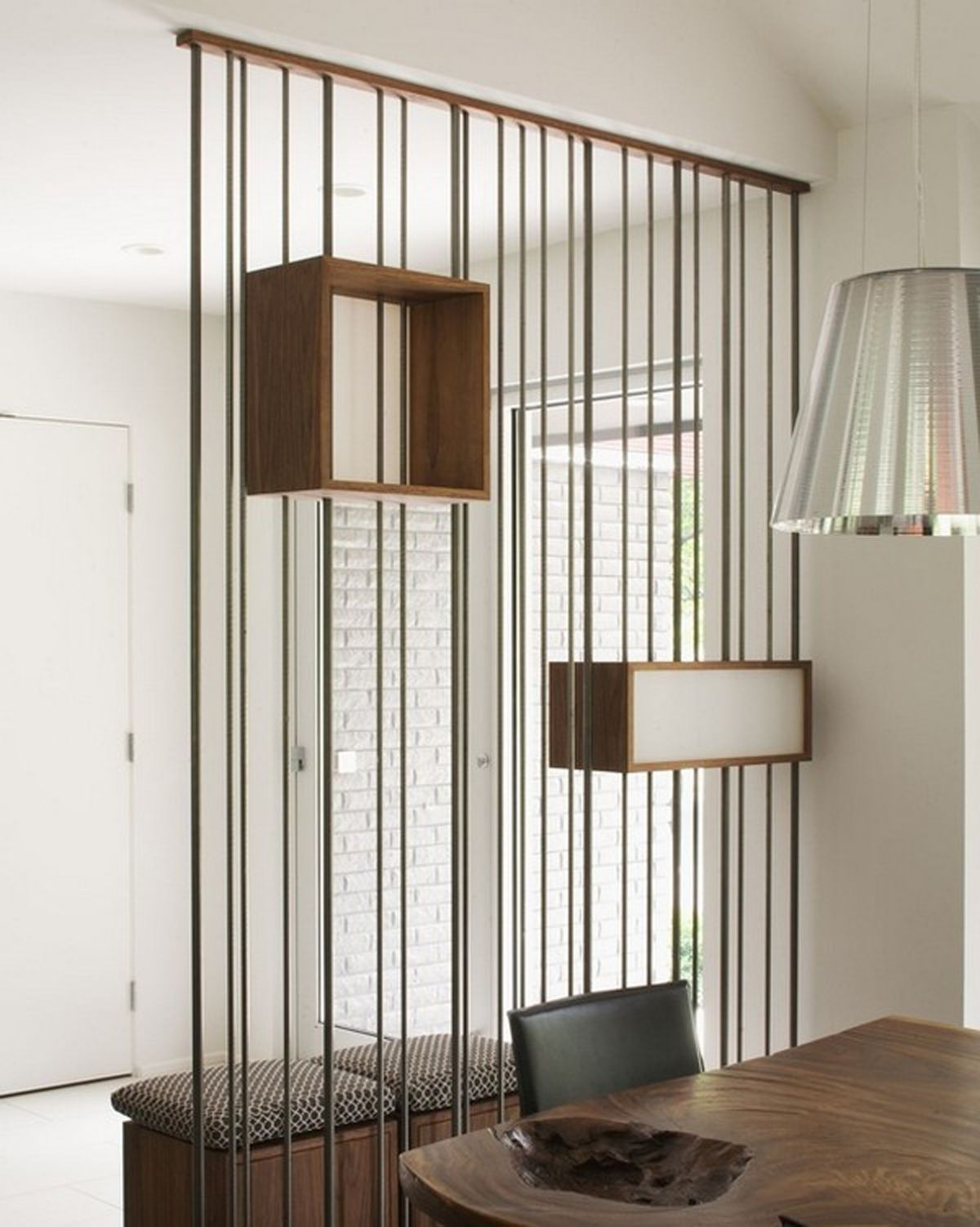 Interior unique room divider ideas without walls unusual room divider with functional design as a shelf ház room house és living room