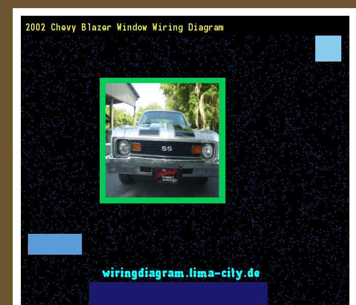 2002 Chevy Blazer Window Wiring Diagram  Wiring Diagram 191