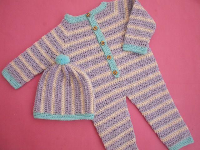 Crochet - Crosia Free Patttern with Video Tutorials: Crochet Baby ...
