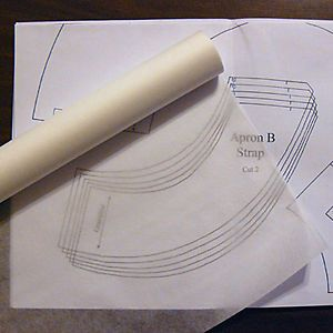 Details Over Sewable Swedish Tracing Paper Fabric Patternmaking 29