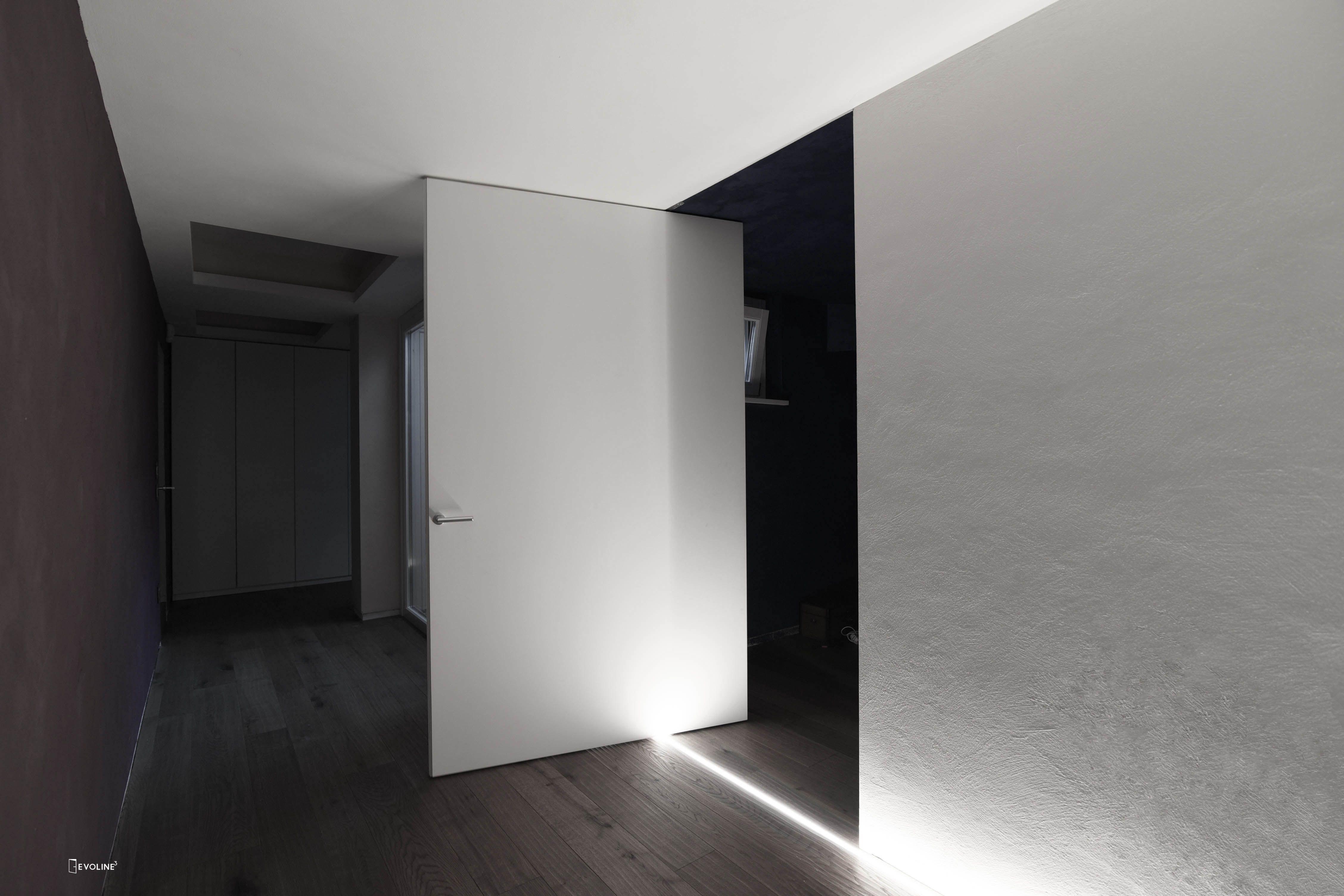 Porta filo muro bilico | Einzelhaus plan | Filo und How to plan