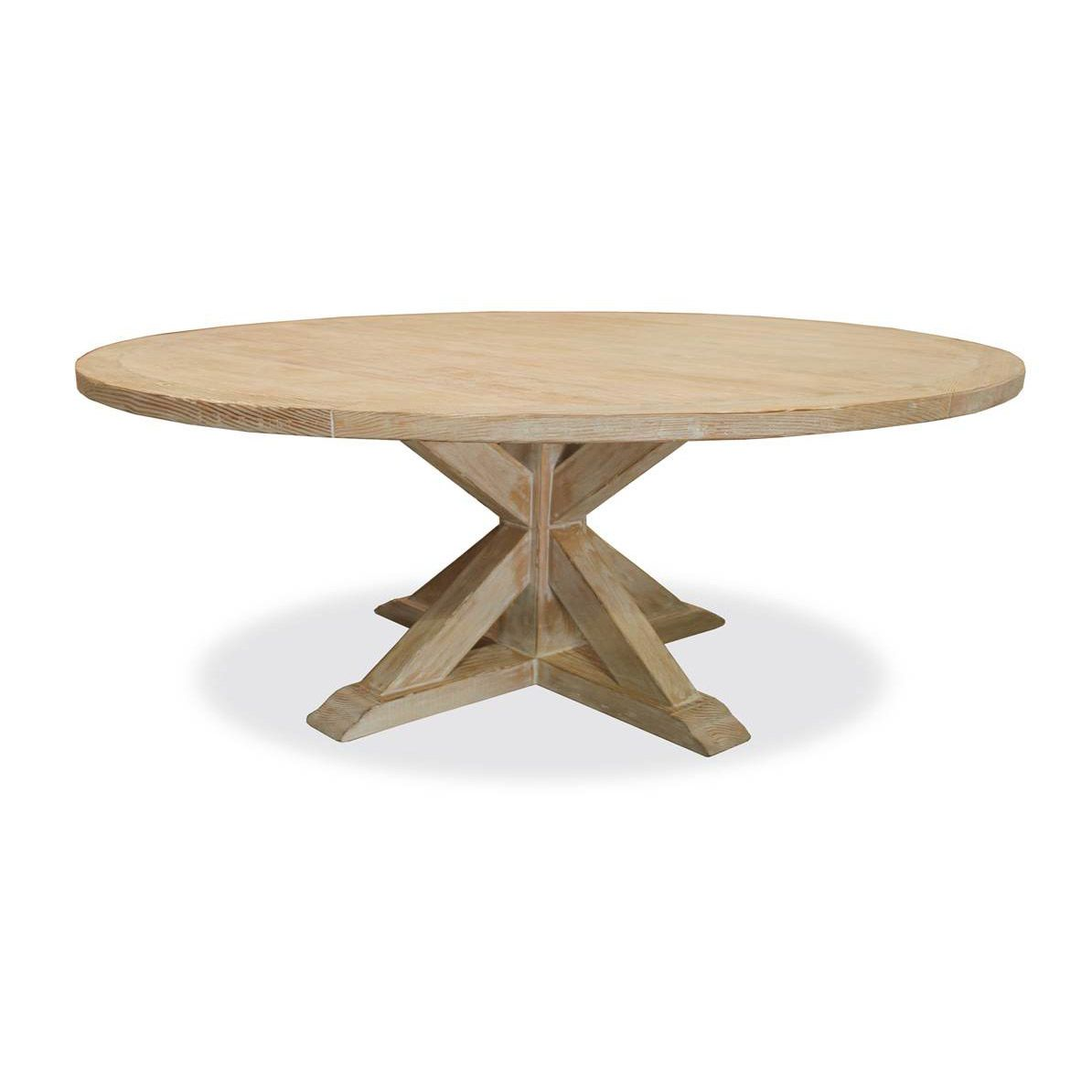 Treasure Reclaimed Wood Round Dining Table | Round dining table ...
