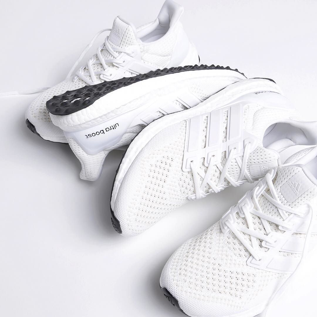 finest selection 5a928 80cf6 Online now  adidas Ultra Boost M White Silver Metallic (129)  adidas   ultraboost  sneakers by end clothing