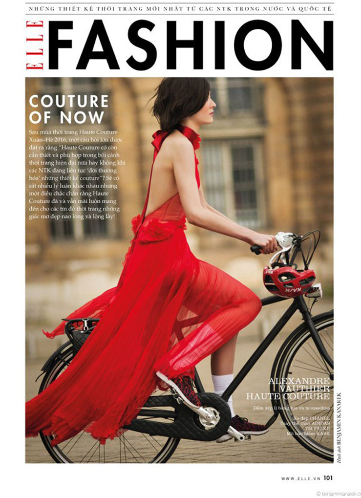 Tour De France: Mar Gonzalez By Benjamin Kanarek For ELLE Vietnam