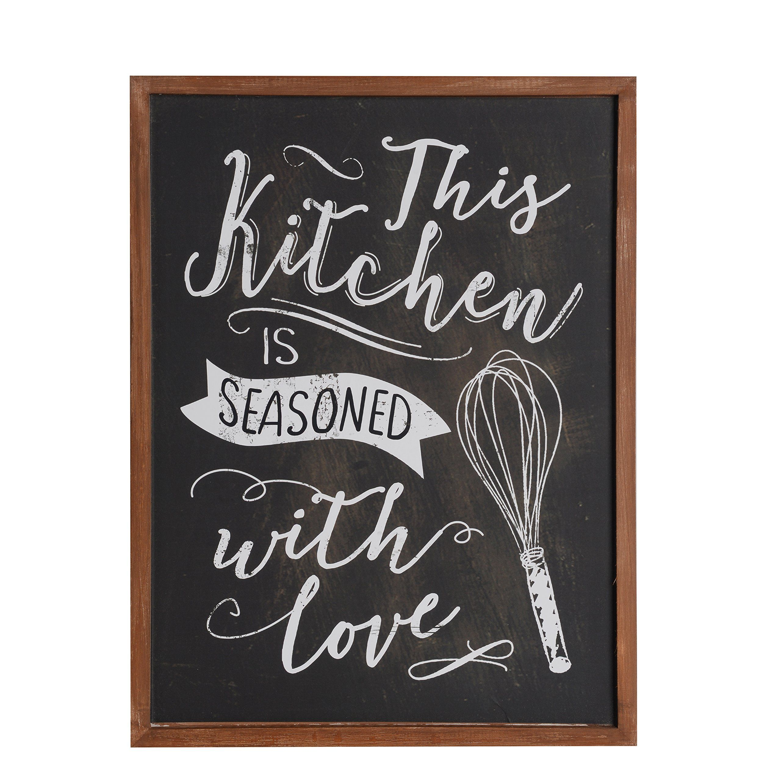 Nikky Home Wood Framed Chalkboar Kitchen Decor Wall Art Chalkboard Wall Decor Chalkboard Art Kitchen