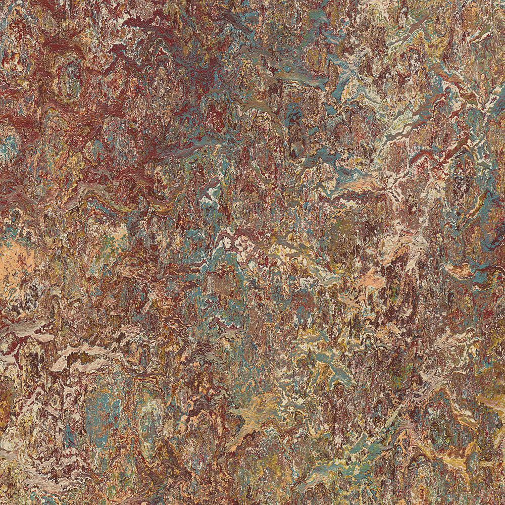 Marmoleum Click Cinch Loc Painters Palette 9.8 mm Thick x 11.81 in. Wide x 11.81 in. Length Laminate Flooring (6.78 sq. ft. / case), Dark