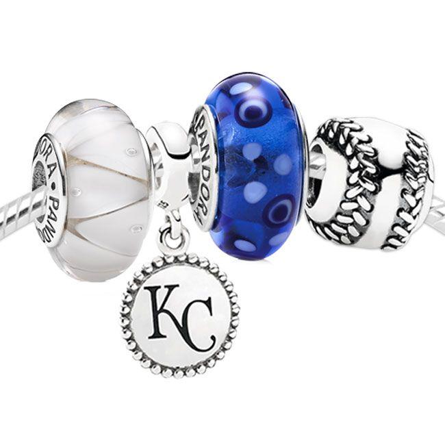 Pandora Set With Kansas City Royals Charm