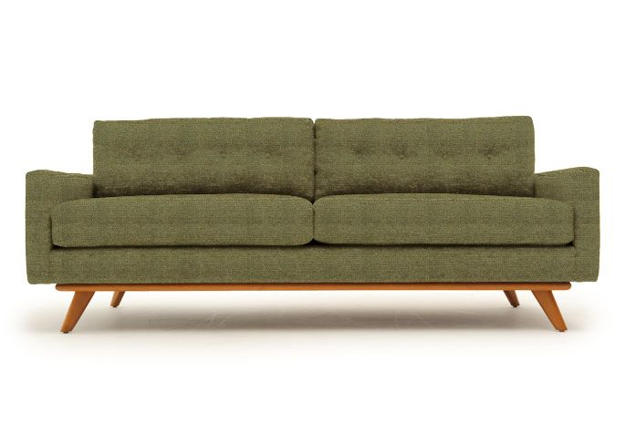 Reclining Sofa Taylor Chair in Lucky Turquoise