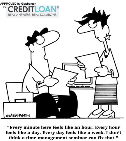 Time Management Dilemma Funny Saving Cartoon Funny Cartoon