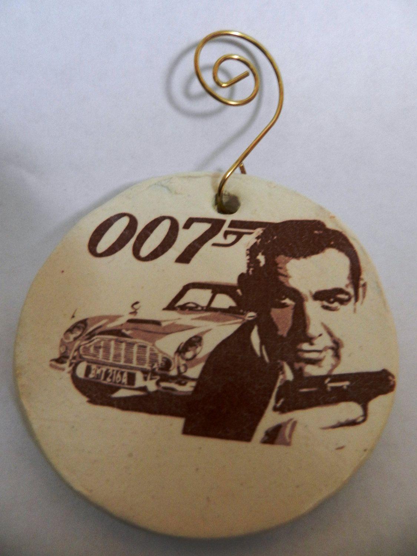 James Bond 007 Christmas ornament. $12.00, via Etsy. | funny stuff ...