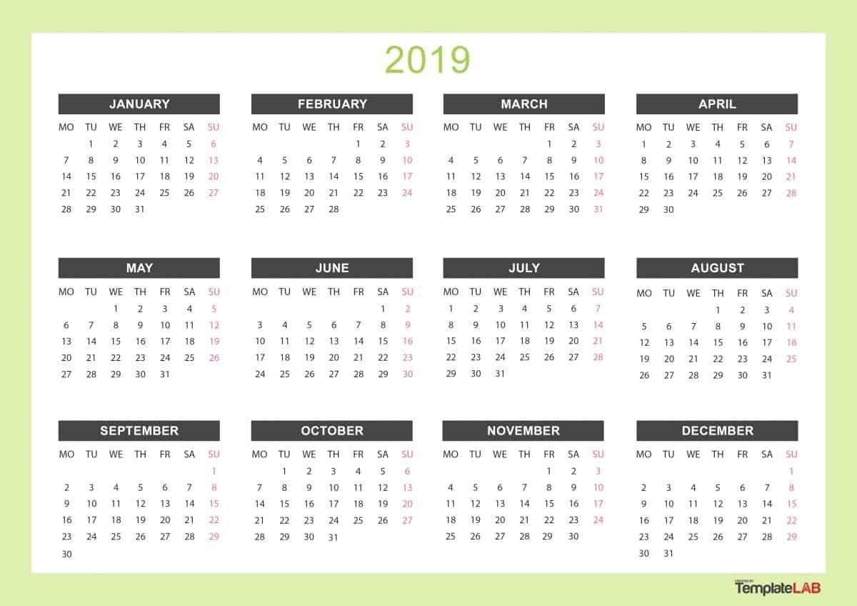 2019 Printable Calendars ᐅ Make It Check more at https ...