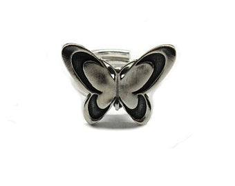 STERLING SILVER RING SOLID 925 SNAKE SIZE 4-11 EMPRESS R001325