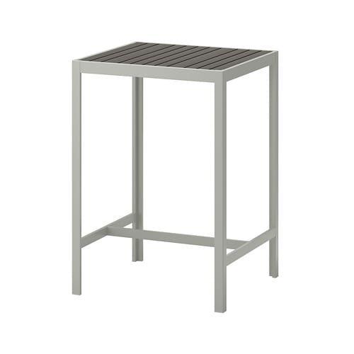 Sjalland Bar Table Outdoor Dark Grey Light Grey Ikea Ikea Pub
