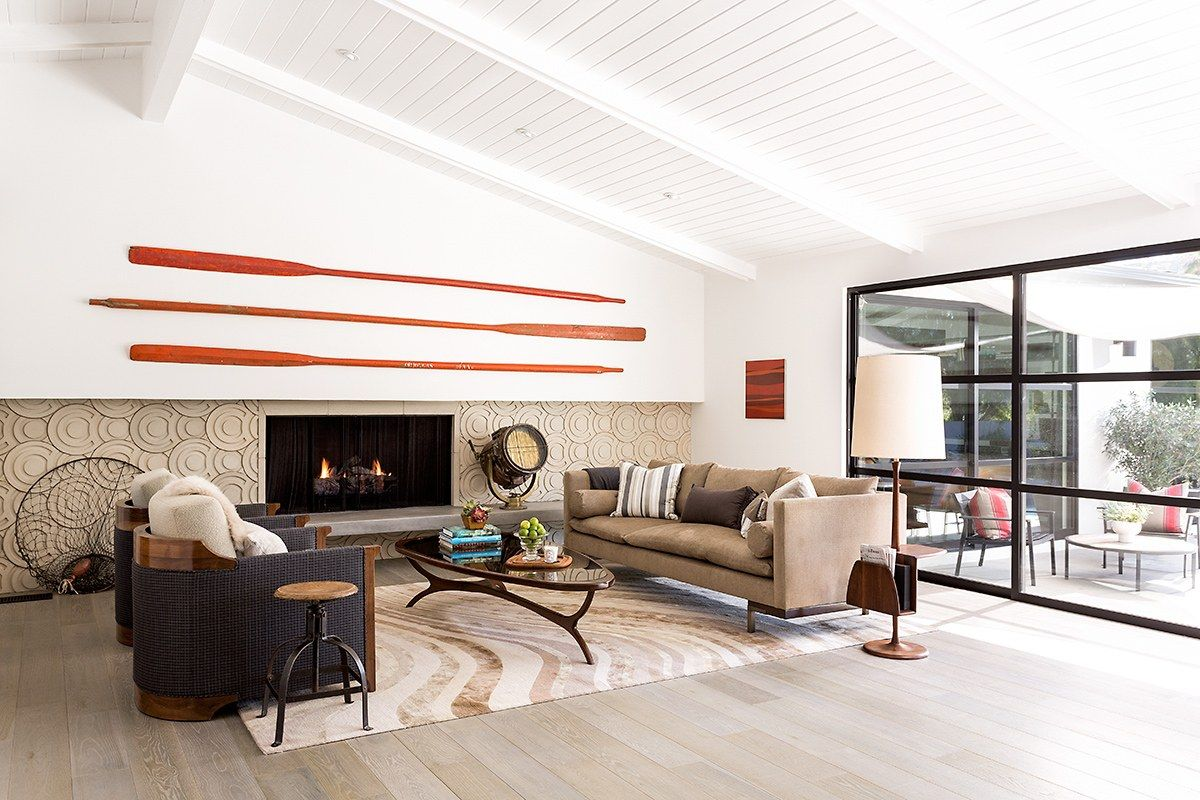 Interiors Final Update: A 1960s House In Hollywood Hills Gets A Modern Update
