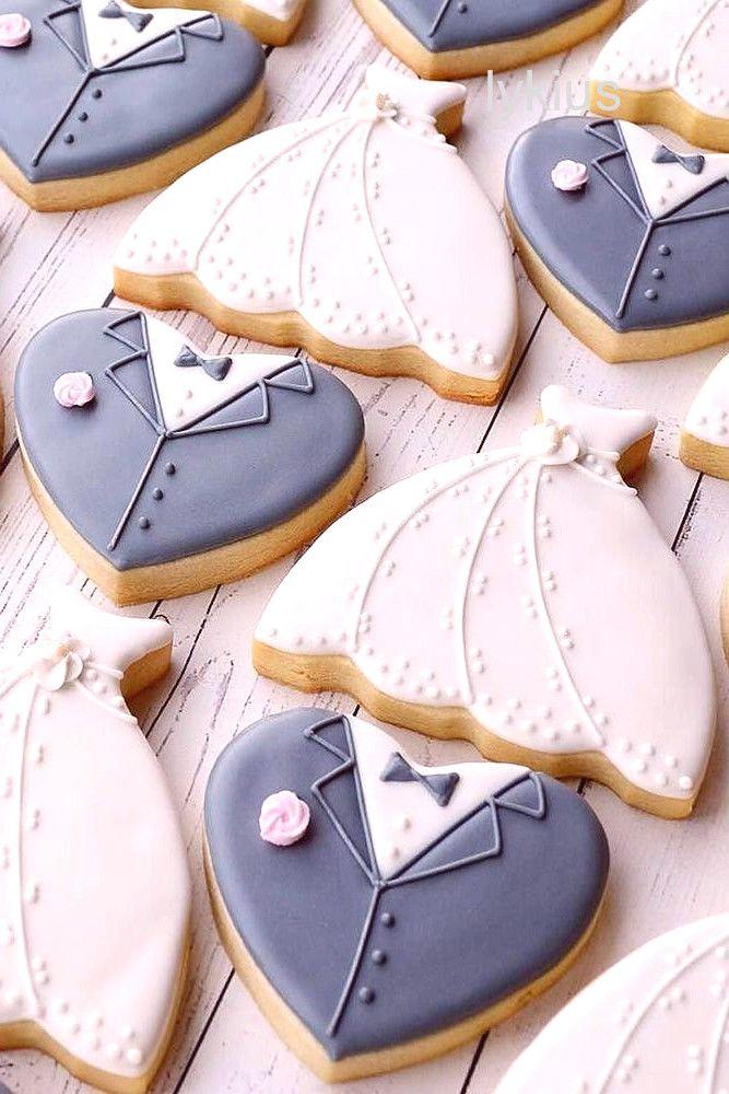 fotografía de belleza de la boda #weddingbeauty Ideas de decoración de galletas de pastel de bodas