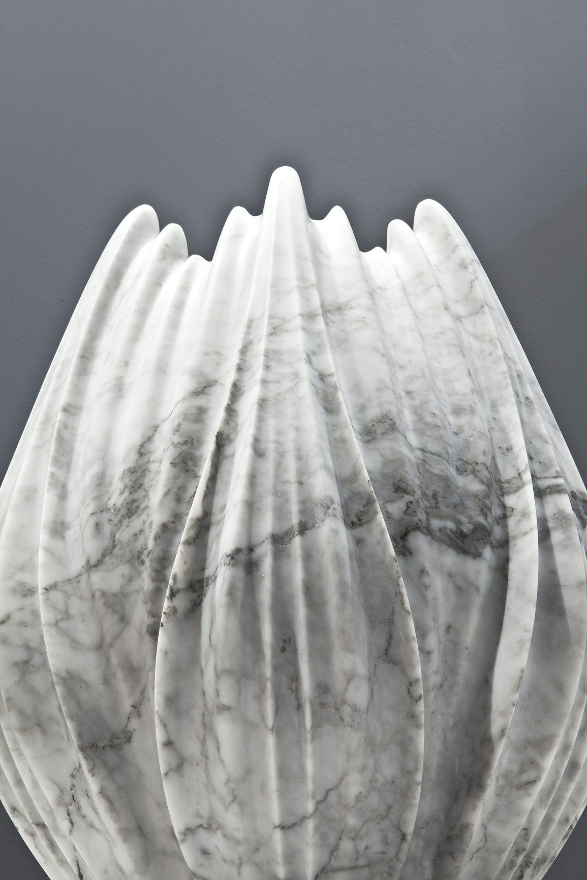 The Solidity Of Metamorphic Rock Becomes Soft And Delicate
