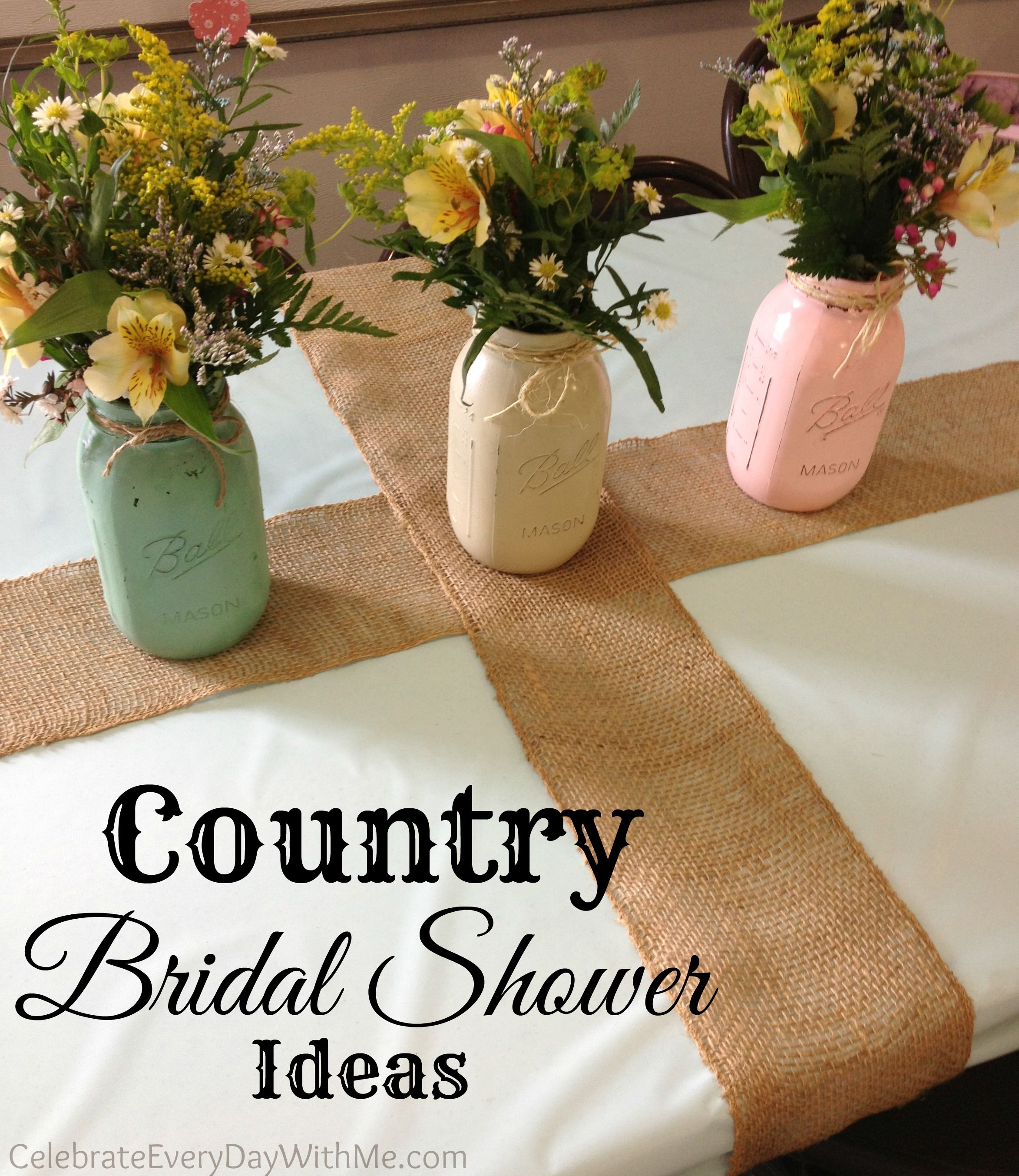 sweet ideas for a country bridal shower love this decor and the way they ran the afternoon