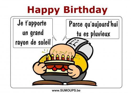 bon anniversaire humoristique