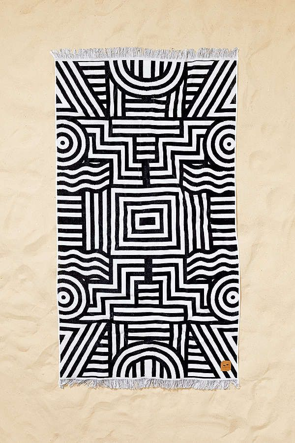 Slowtide Visions Beach Towel Beach Towel Towel Animal Print Rug