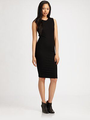Vince - Fitted Sheath Dress - Saks.com