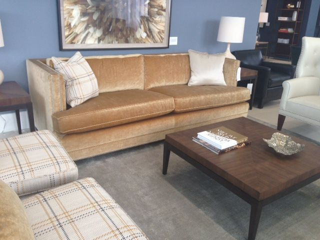 Mitchell Gold Bob Williams Keaton Sofa In Marlow Antique Gemma Chairs And James Chair With Parker Table Collection