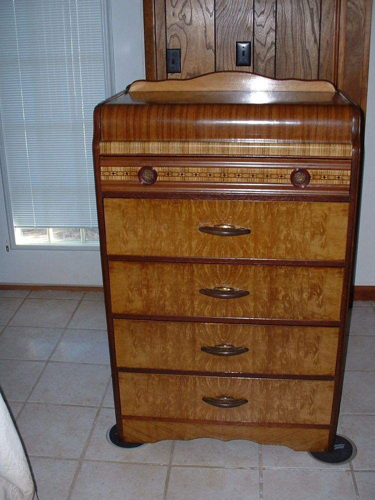 Art Deco Antique 5 Drawer Dresser
