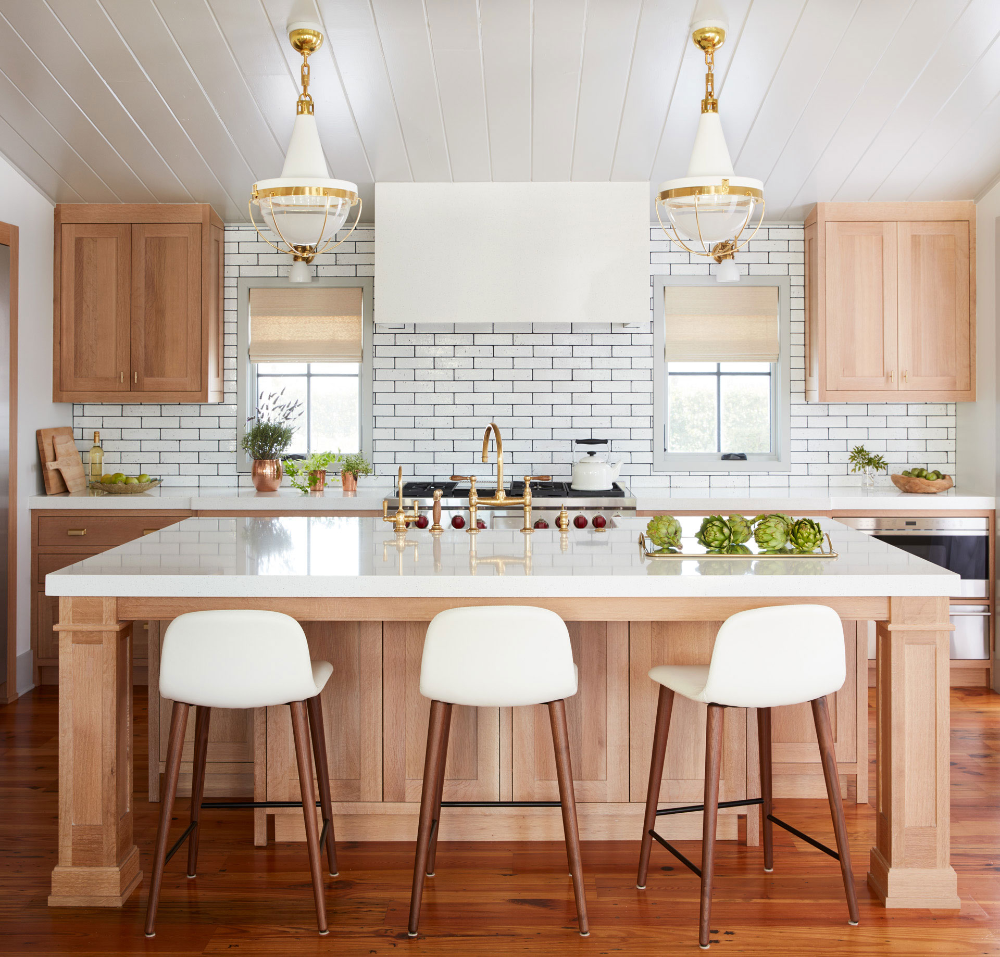 andrew howard interior design art collectors natural wood kitchen cabinets natural wood on kitchen cabinets natural wood id=39198