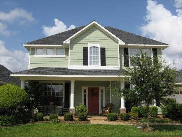 Popular Exterior Paint Colors Glidden Exterior Paint Colors For House House Paint Exterior House Paint Color Combination