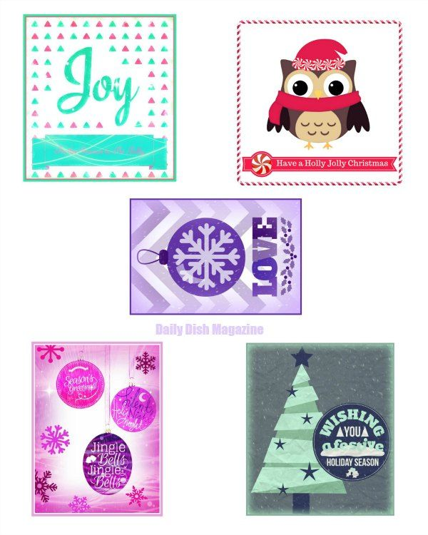 Free Christmas Bottle Label Printables Crafty 2 The Core Diy