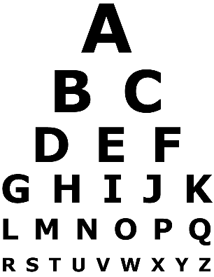Visio Eye Chart Template Eye Chart Pyramid Eye Chart