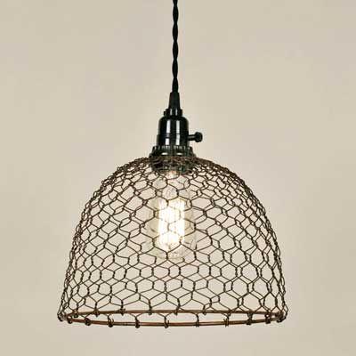 Chicken Wire Dome Pendant. DROP SHIPPER! | Pinterest | Pinterest ...