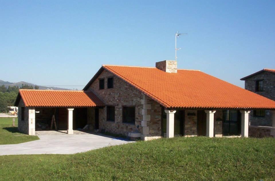 Construcciones Pali Viviendas De 2 Plantas Modelo 1 Casas De Dos Plantas Casas Mansiones Casas Rusticas