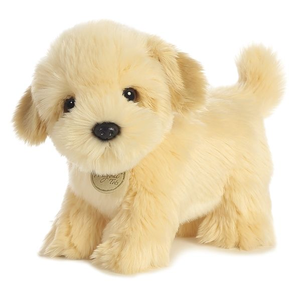 Realistic Stuffed Lhasa Apso Puppy 9 Inch Plush Dog By Aurora At