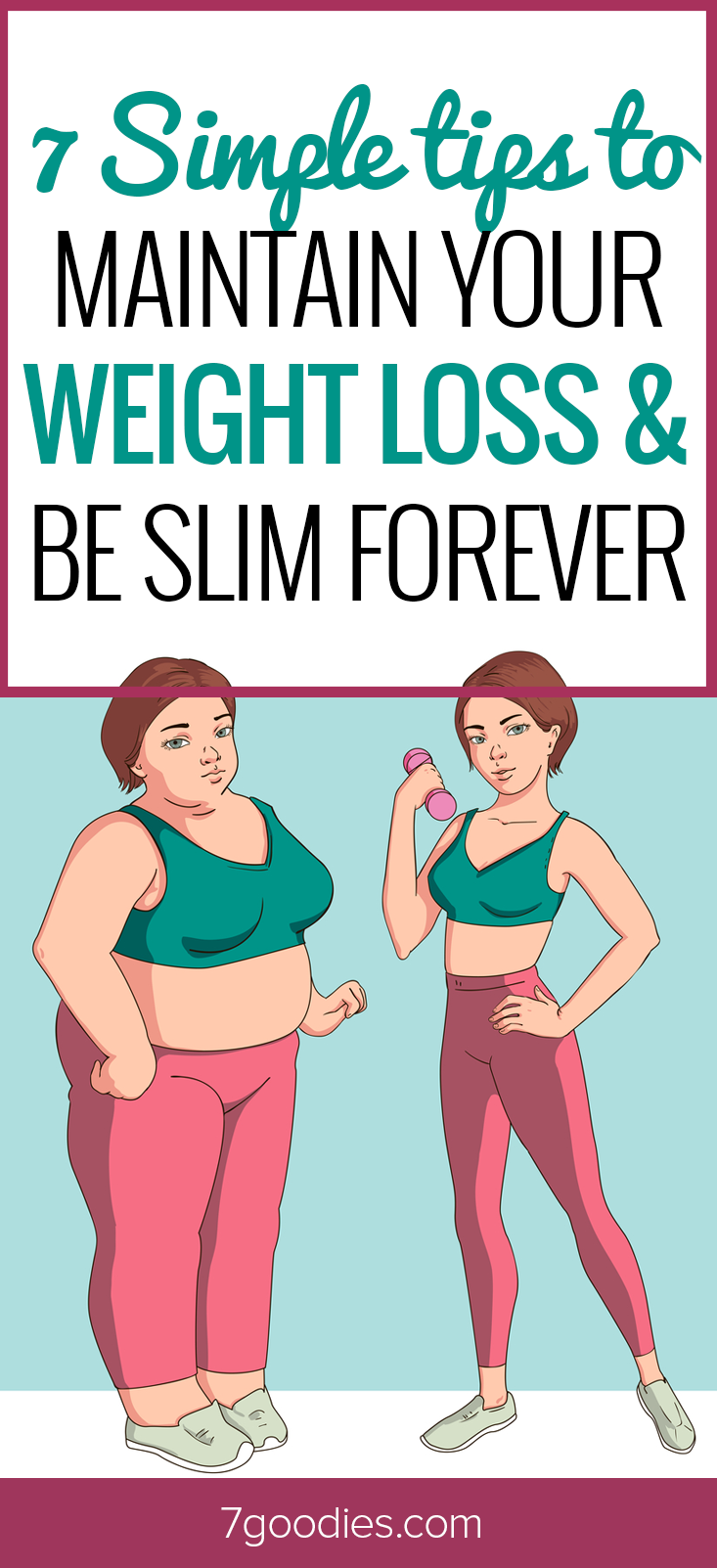 7 Tips for Forever Weight Loss