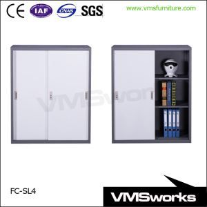 China Office File Storage Half Height Sliding Door Wide Paperwork Filing Cabinet With Shelves Office Cupboards Ikea Storage Cabinets Lockable Storage Cabinet