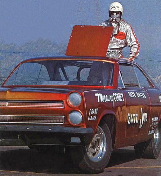 "Pete Gates, ""Gate Job"" Mercury Comet A/FX FC, 1966"