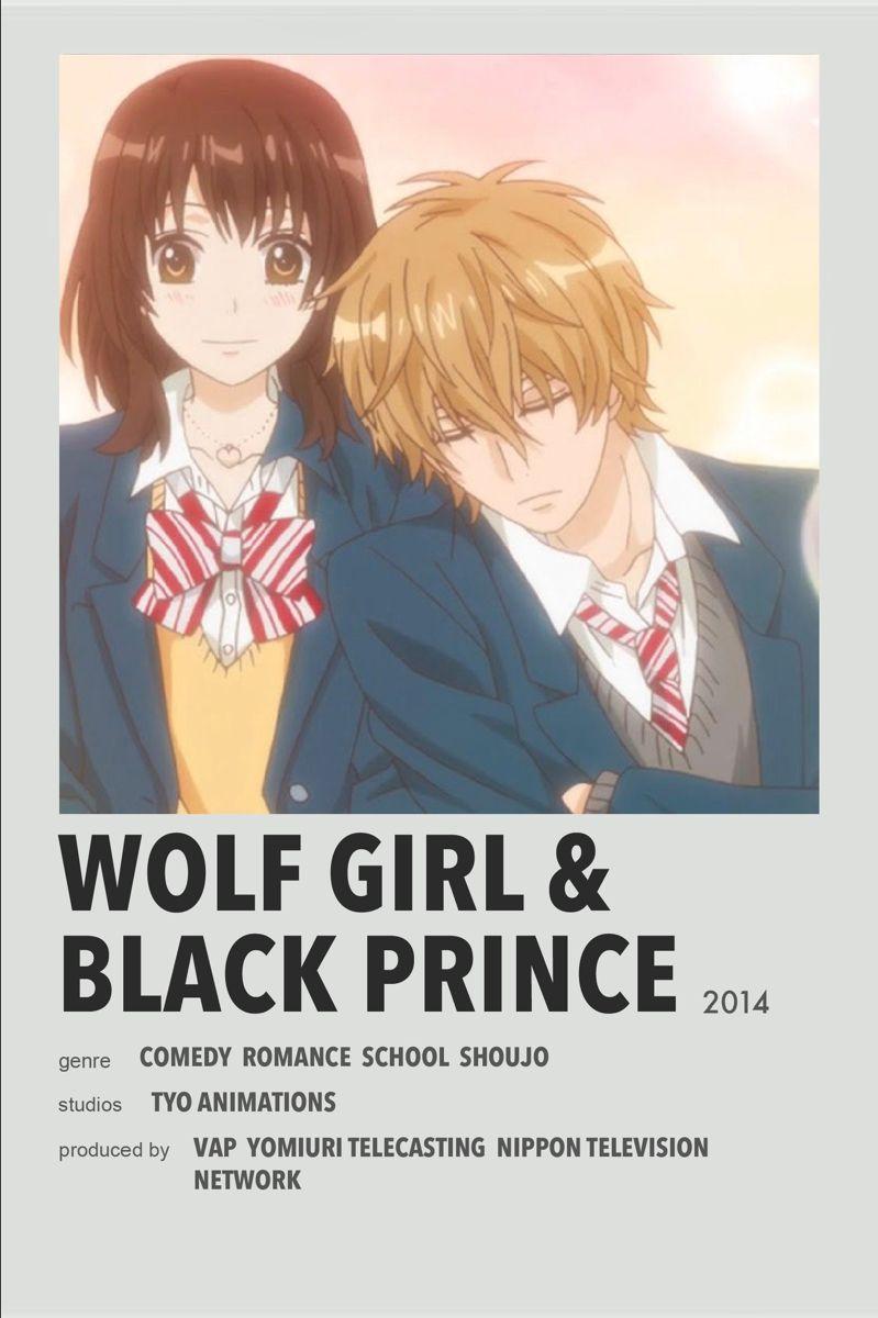 Wolf Girl Black Prince Anime Films Best Anime Shows Anime Printables
