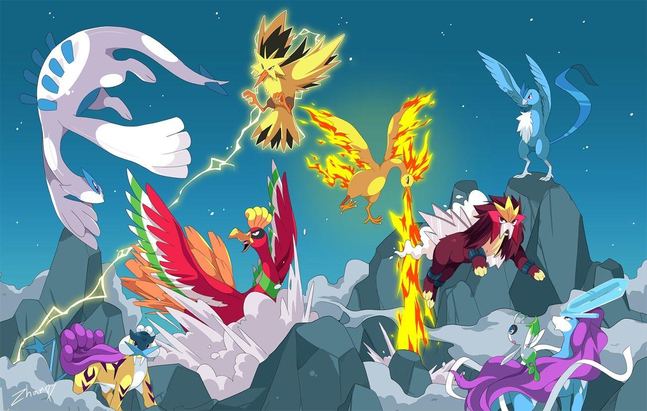 Legendary Bird Pokemon Wallpaper