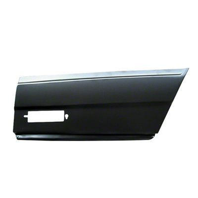 1981-1988 Chevy Monte Carlo PASSENGER SIDE QUARTER PANEL REAR LOWER SKIN PIECE [PATCH PANEL]