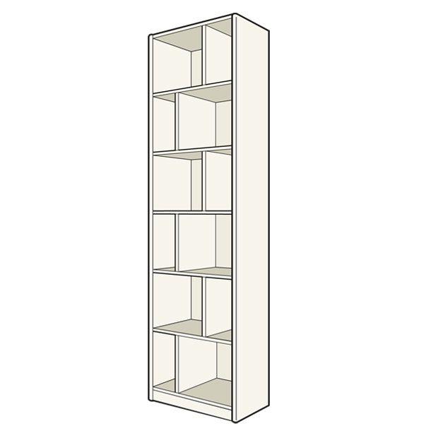 caisson de terminaison x cm pour dressing. Black Bedroom Furniture Sets. Home Design Ideas
