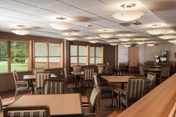 Lighting Levels And Light Fixture Design In The Dining Area Resembles Those Found Hotels Or