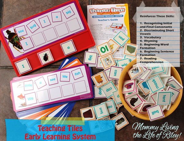 Teach your child to #read the fun and easy way!    #toys #education #books  www.mommylivingthelifeofriley.com