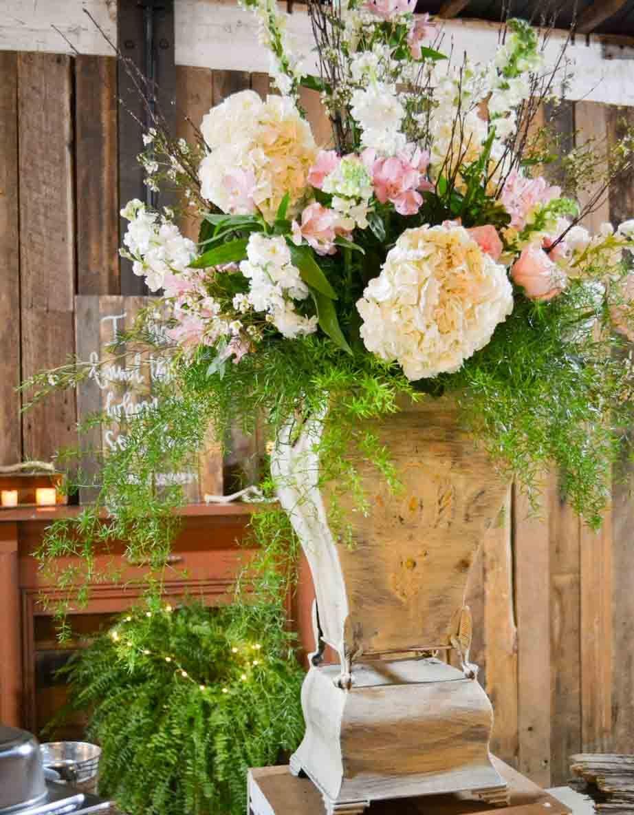 Wedding decor images  Wedding reception barn wedding décor reception décor flowers