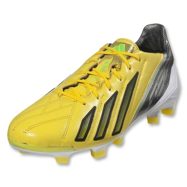 Mens Adidas Football Football Adizero Boots F50 Trx Fg Lthr Blk Zest All Mens Boots Yellow